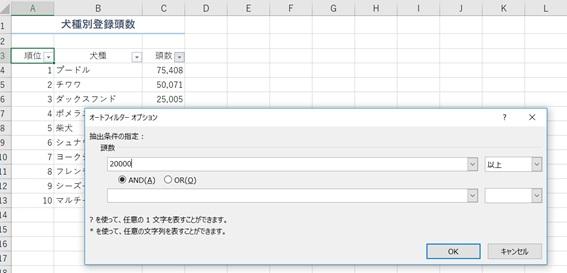 Excelフィルターの使い方と設定・対処法