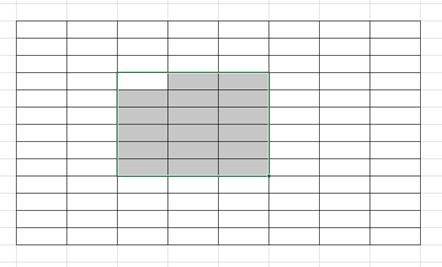 Excel罫線や枠線を削除する方法3
