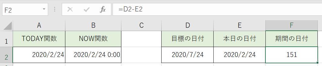 日数の計算をしました。