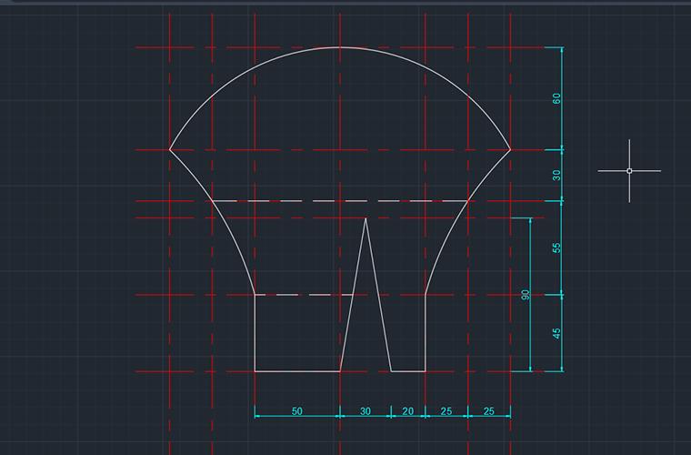 【無料配布用】立体マスクの型紙の作り方本体部分
