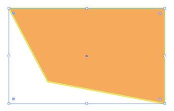 四角形のパスの変形