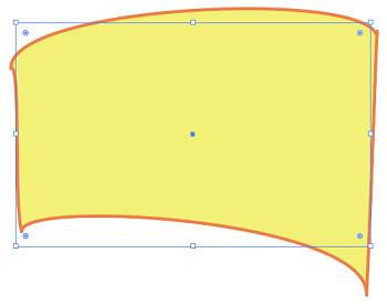 ランダム、ひねりでパスを変形した結果