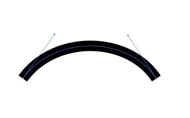 Illustratorのペンツールで曲線(ベジェ曲線)を描く