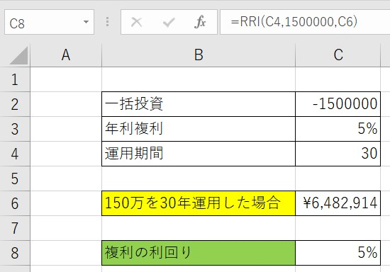 RRI関数例2結果応用