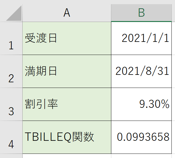 数値で表示される場合は、利回りなので%表示に表示形式を変えるとわかりやすいでしょう。
