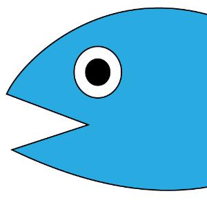 ベクトル画像の魚